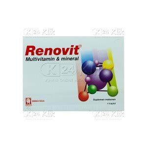 Vitamin Renovit jual beli renovit tab 4s str k24klik