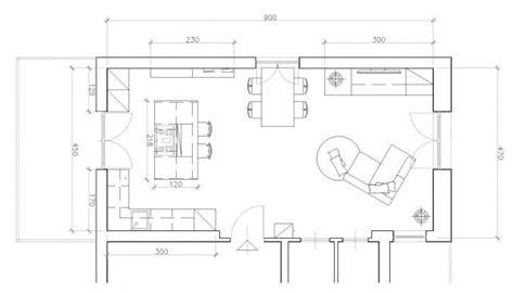 pianta soggiorno cucina a vista sul soggiorno un progetto per sfruttare