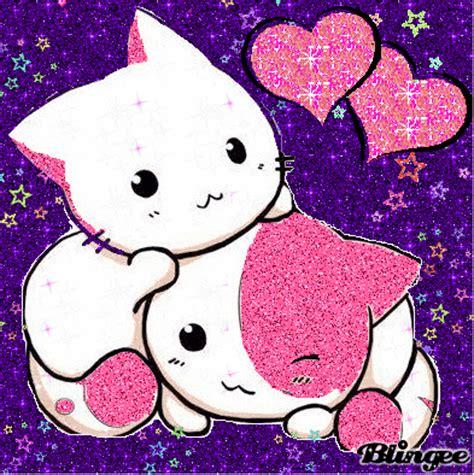 imagenes de gatitos kawaii anime fotos animadas gatitos lindos para compartir 131155667