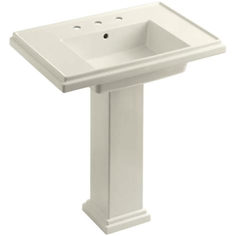 bathroom sink combo kohler memoirs stately ceramic pedestal bathroom sink