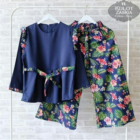 Sale Kemeja Blus Hitam Wanita Shanghai Karet Pinggang Polos Silk sale cuci gudang baju setelan zaskia kulot cs024