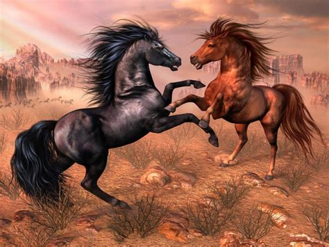 imagenes en 3d de animales salvajes galer 237 a de im 225 genes dibujos de caballos