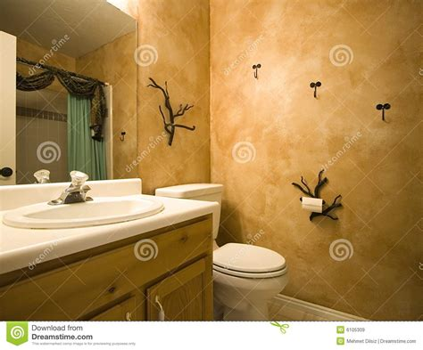 bathroom shots interior shot of a bathroom with modern design royalty