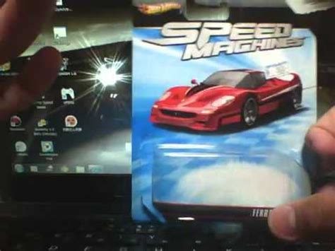 Hotwheels F50 Speed Machine wheels speed machines f50 開封