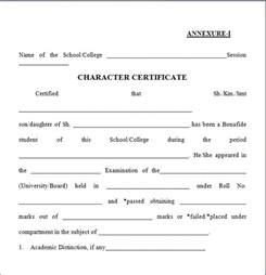 Character Background Template by 6 Character Certificate Templates Certificate Templates