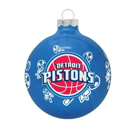 detroit pistons christmas ornament christmas pistons