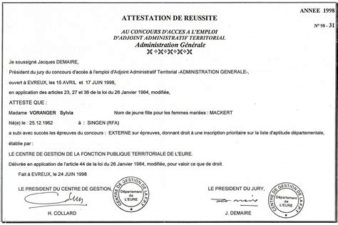 exemple certificat de travail negatif document