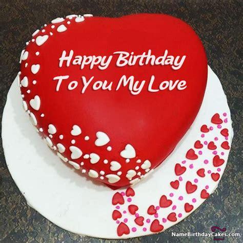 design love fest birthday romantic birthday cake for lover express your love