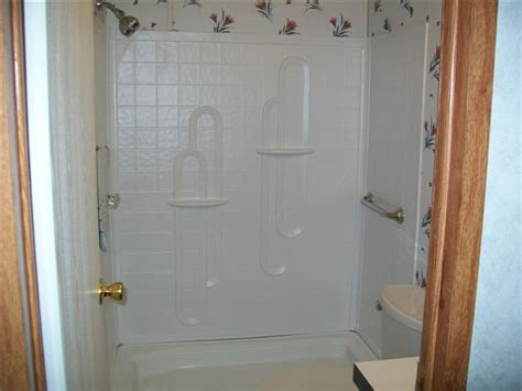 mobile home bathroom showers shower stall kits mobile homes bestofhouse net 14844