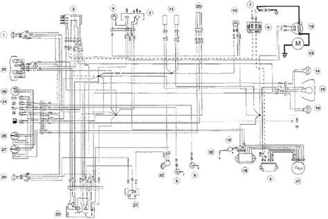 wiring diagram cagiva 600 free service repair user and owner manual