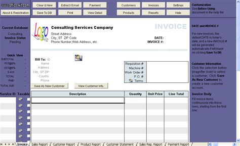 consulting invoice template excel consulting invoice template free on