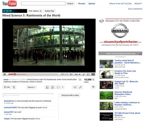 youtube site layout youtube redesigned with films user uploads in mind wired