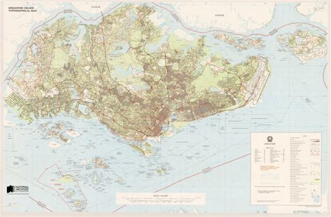 map of singapore singapore map 1940