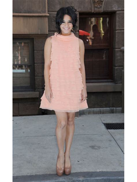 Fanessa Dress Pink Pink hudgens style file fashion