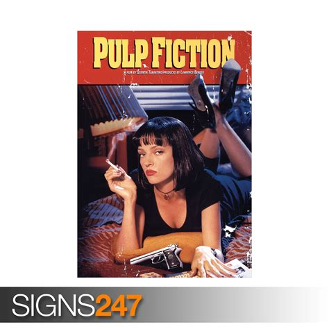 Poster Pulp Fiction Ukuran A3 pulp fiction 1040 photo picture poster print a0 a1