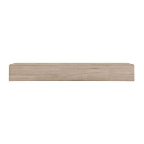 Unfinished Mantel Shelf by Pearl Mantels The 6 Ft Unfinished Cap Shelf