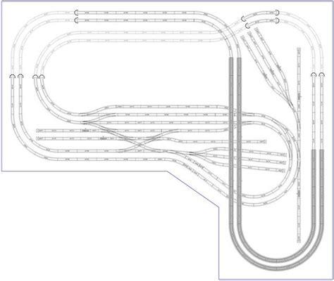 ho scale layout design software marklin ho c track 320x270 modelos de trenes pinterest