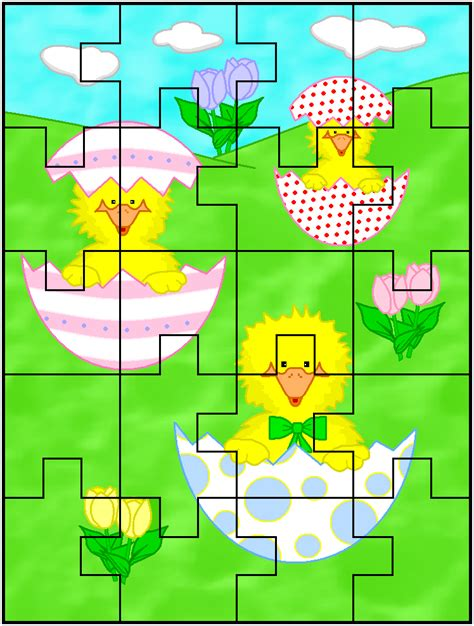 Printable Easter Jigsaw Puzzles | christmas printable puzzles page 2 search results new