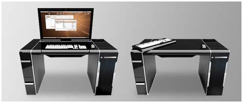 bureau pc design gain d espace et de fonctionnalit 233 s le bureau ordinateur