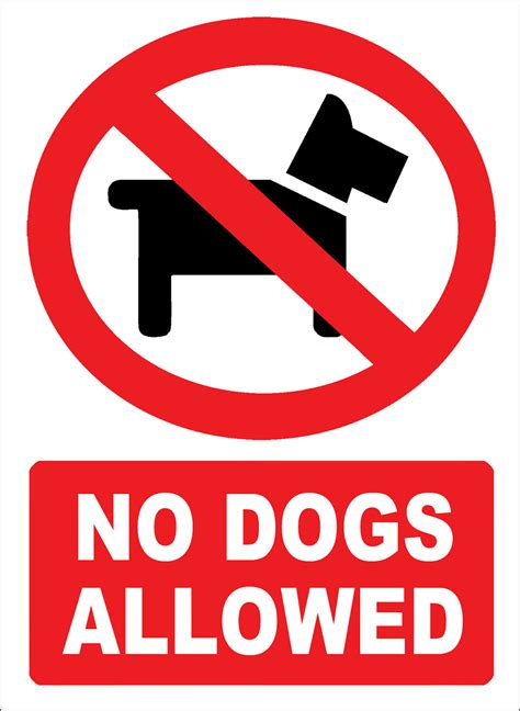 no dogs allowed pin no dogs allowed clip vector royalty free on