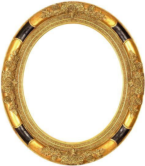 transparent oval frames free illustration frame gold embossed antique free