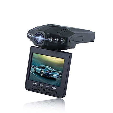 hd dvr car lecmal dash hd car led 2 5 inches dvr ir