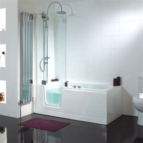walk in bath with shower shower baths p shaped l shaped bathtubs for showering