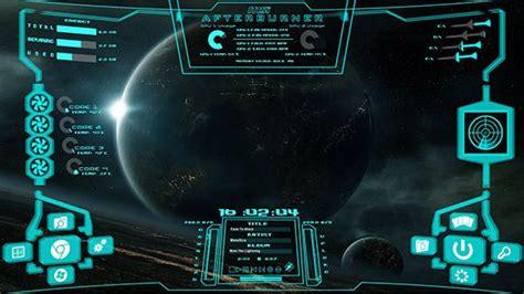 computer interface themes hi tech future sci fi mega gadgets intergalactic
