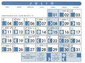 Calendario Lunar Julio 2015 Calendario Lunar Julio De 2011