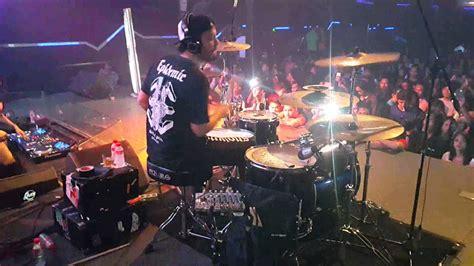 tutorial drum eno netral eno netral drum cover feat dj tira haze at liquid jogja 8