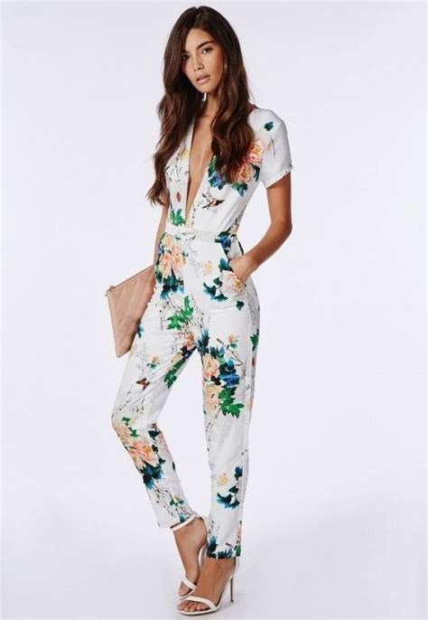 Floral Jumpsuit Premium Quality 25 best ideas about floral jumpsuit on jumper suit casual jumpsuit and womens