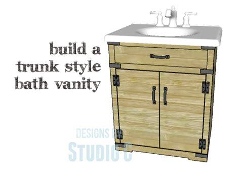 build a custom bath vanity designs by studio c another easy to build bath vanity designs by studio c