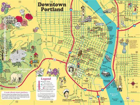 25 best portland oregon map ideas on oregon