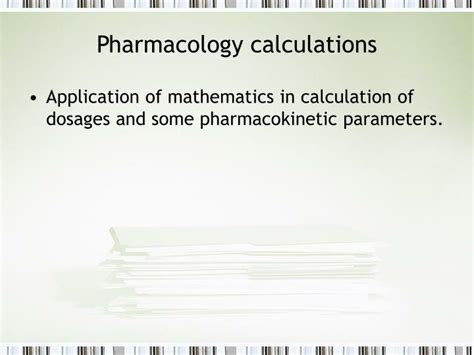 Ppt Pharmacology Calculations Powerpoint Presentation Pharmacology Powerpoint Presentation