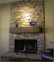 Interior Brick Veneer Home Depot stone tile fireplace surround home design ideas