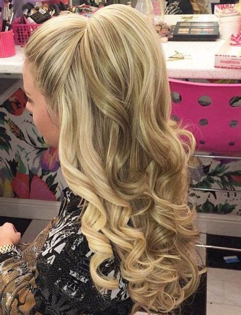 elegant hairstyles bump 50 gorgeous prom hairstyles for long hair society19