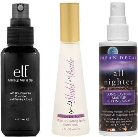 diy waterproof makeup setting spray how to get the no makeup look trusper