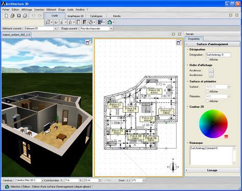 livecad logiciel d architecture 3d agrandissement de la capture d cran
