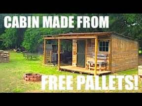 this tiny house cabin was made from free pallets