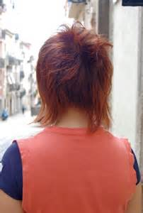 hair with shag back view back view of short shag hairstyles hairstylegalleries com