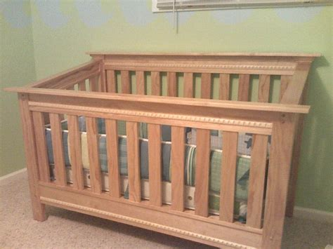 Pine Baby Crib by Custom Made Pine Baby Crib By Hughes Woodworking