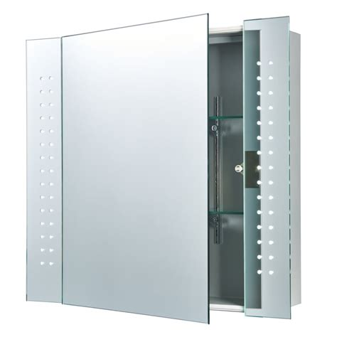 bathroom cabinet with light and mirror 60894 led bathroom cabinet sensored mirror cabinet