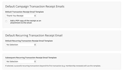 kindful receipt template recurring transaction receipts and processing kindful