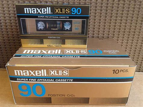 top 10 best blank audio cassette best of maxell xlii s 90 the best high bias cro2 blank audio