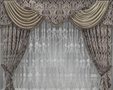decorazioni per tende decorazione interna con tulle e tende con mantovane foto
