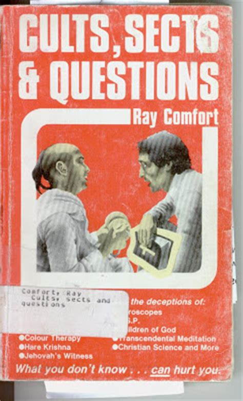 ray comfort books canterbury atheist ray comfort cults sects and questions