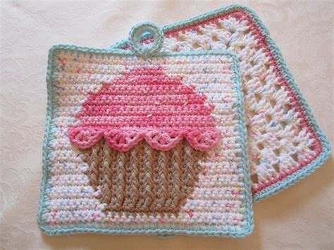 pattern for dishcloth holder free crochet cupcake dishcloth pattern squareone for