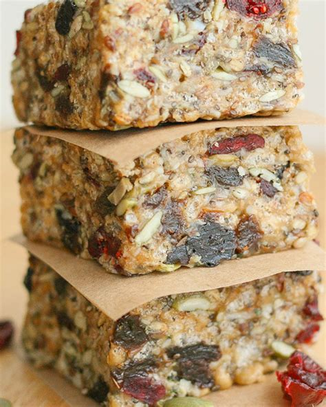 protein bar recipe energy bars healthy portable snacks you can make at home