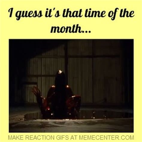 i guess it s that time of the month by thepuppetsaw meme