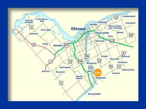map of ottawa canada and surrounding area map of ottawa done in fireworks 4